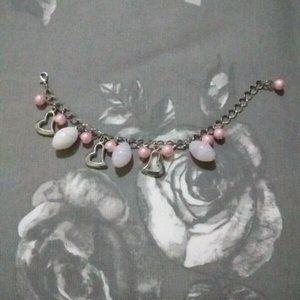 ⚡3/$20⚡ Bead And Heart Bracelet